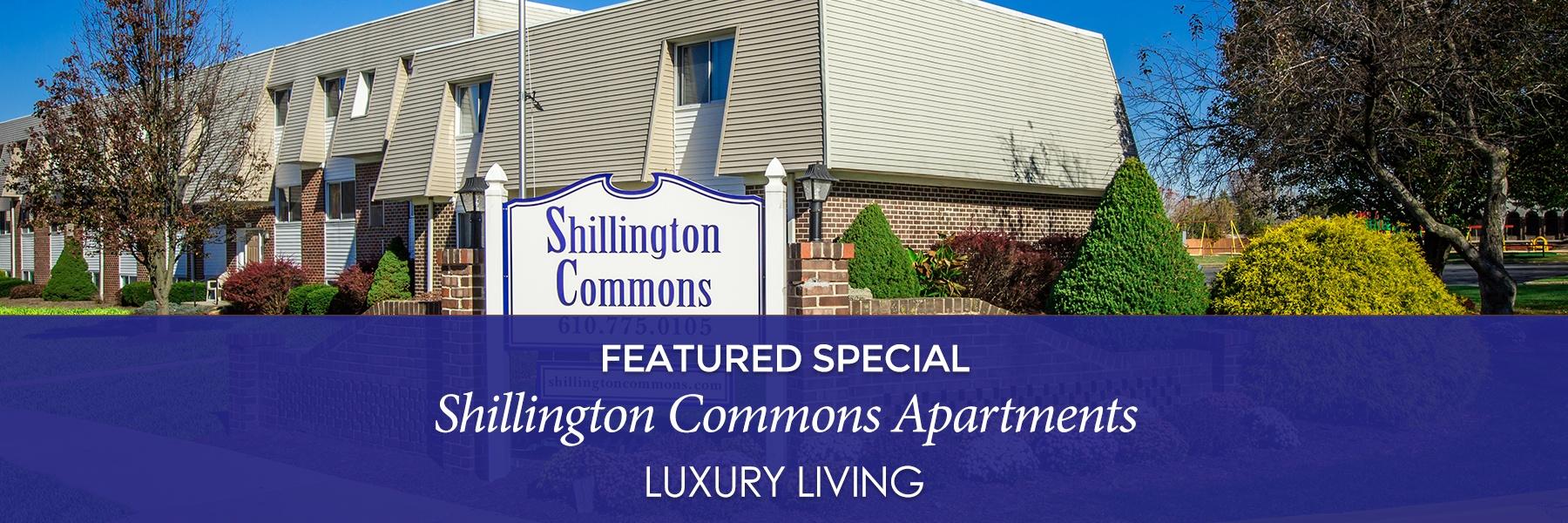 Shillington Commons Apartments For Rent in Shillington, PA Specials